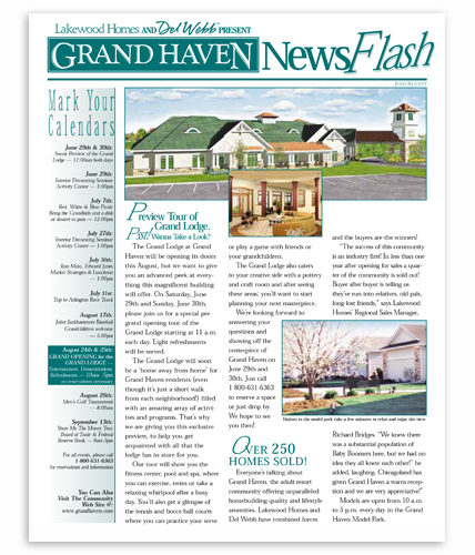 GrandHaven News Flash