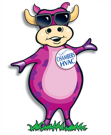 Purple Cow. Chambers Heating & Air Conditioning
