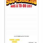 Even a Superhero Has a To-Do List!
