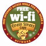 Green Street Café FREE Wi-fi
